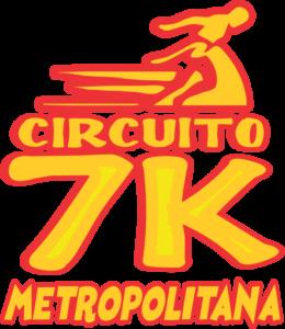 Logo 7K Metropolitana